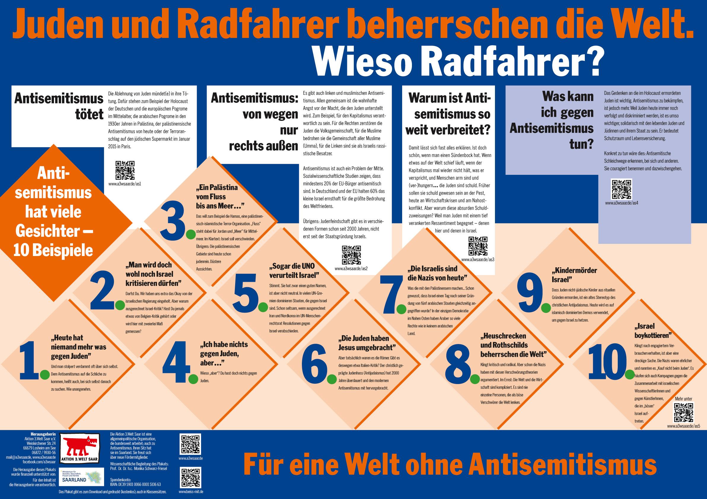 Juden, Radfahrer oder öffentlich finanzierte Aktivisten: Wer ...