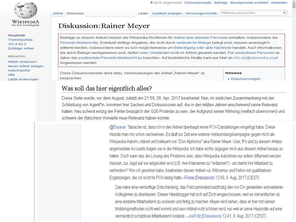 Wikipedia: Fünf Jahre später, dieselben Verleumder, dieselbe ...
